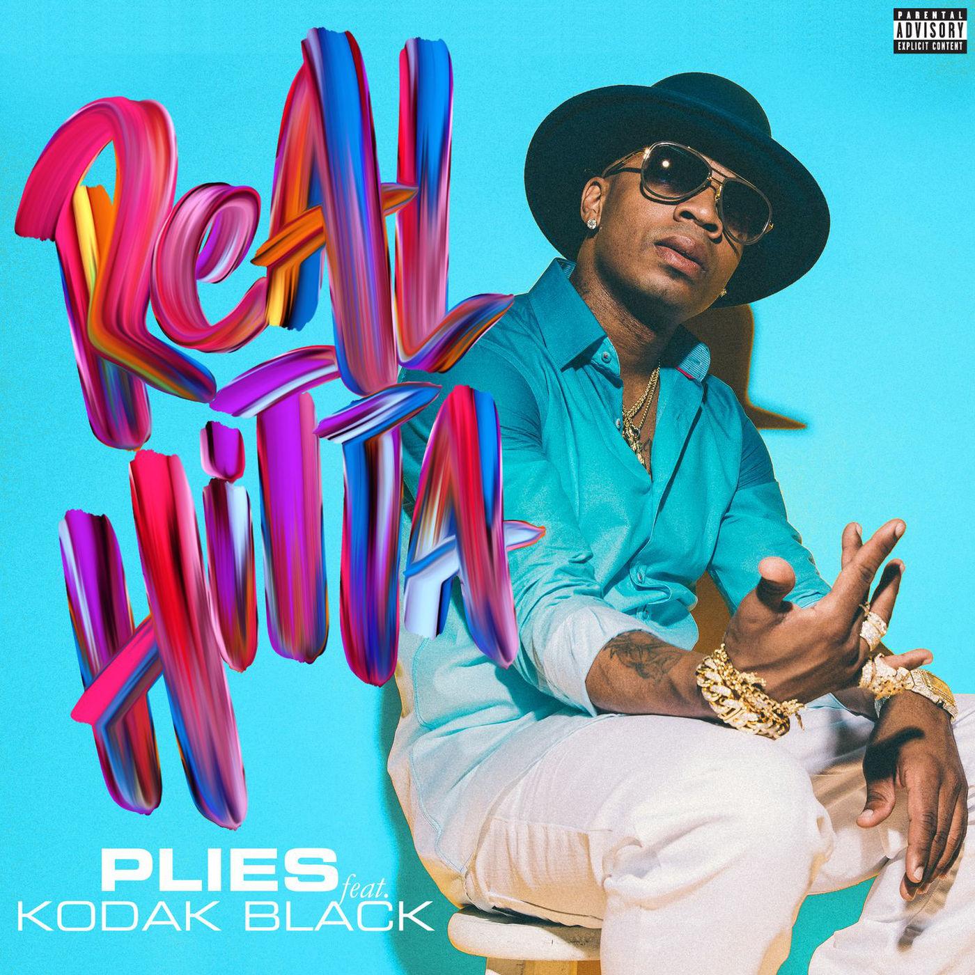 Plies - Real Hitta (feat. Kodak Black) - Single Cover