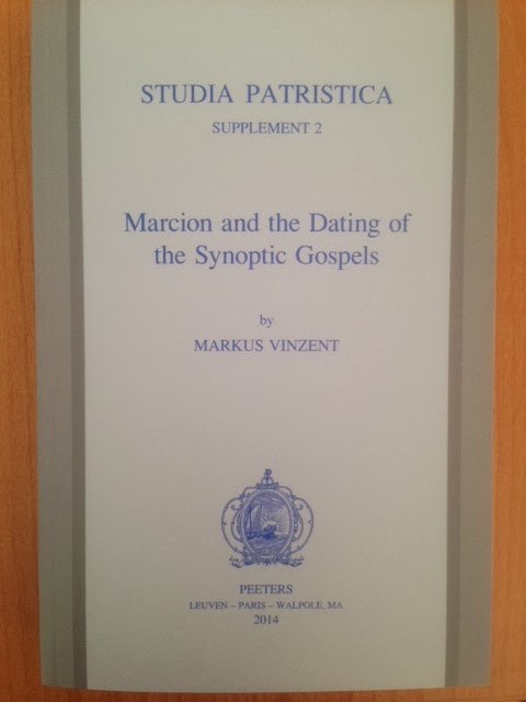 Marcion and the dating of the synoptic gospels