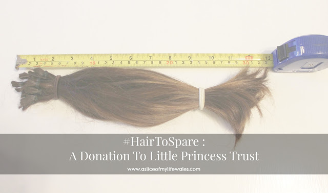 #hairtospare a donation to the little princess trust