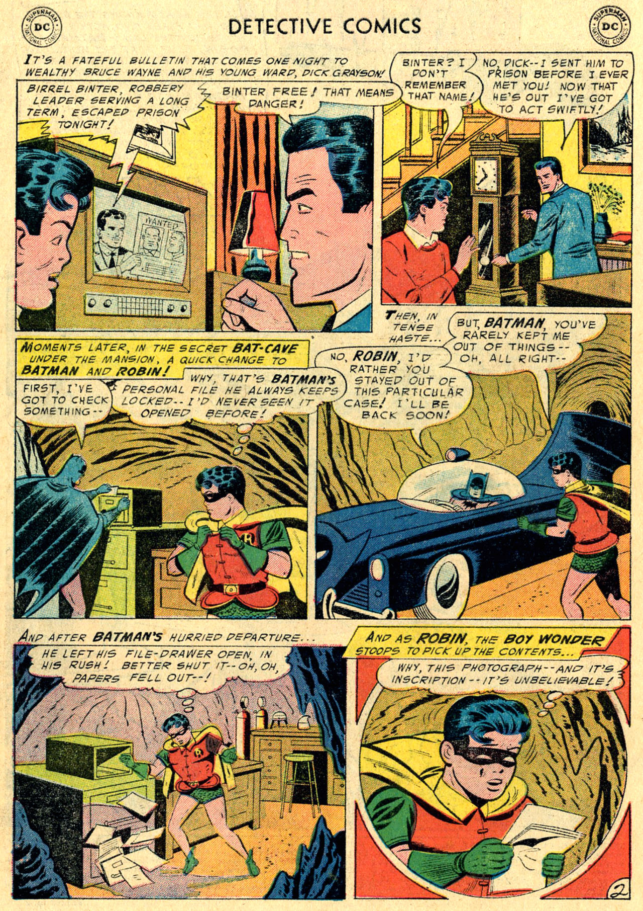 Detective Comics (1937) 231 Page 3
