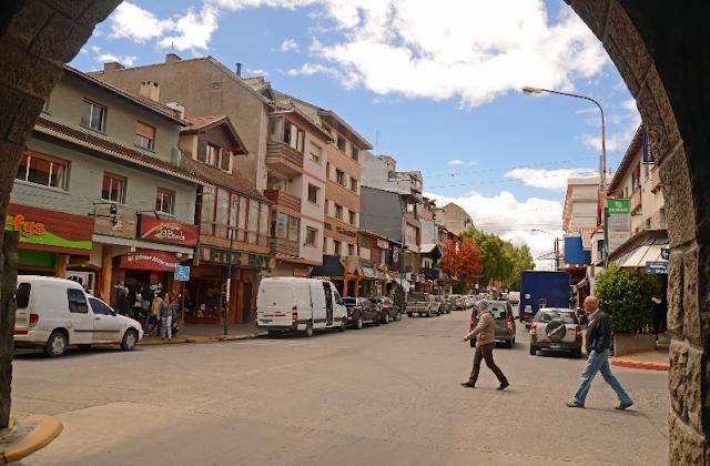 Rua Mitre em Bariloche na Argentina