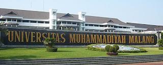 Universitas Swasta Terbaik Di Indonesia 2016 versi DIKTI - universitas muhammadiyah malang