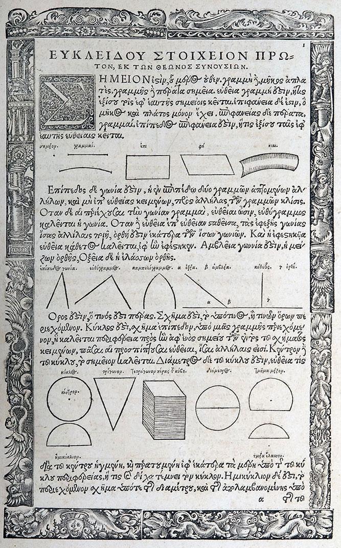 Le geometrie non Euclidee: Gauss, Lobacevskij, Bolyai 1