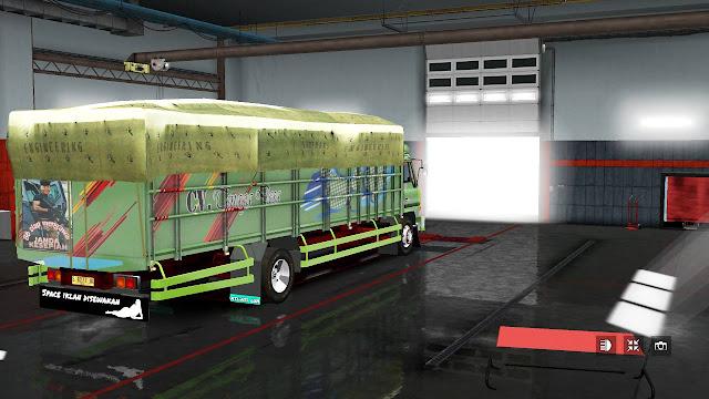 Skin Livery Mod old Hino Ranger v2.0 Arfakhsyad Azzam Faylasuf Dafa