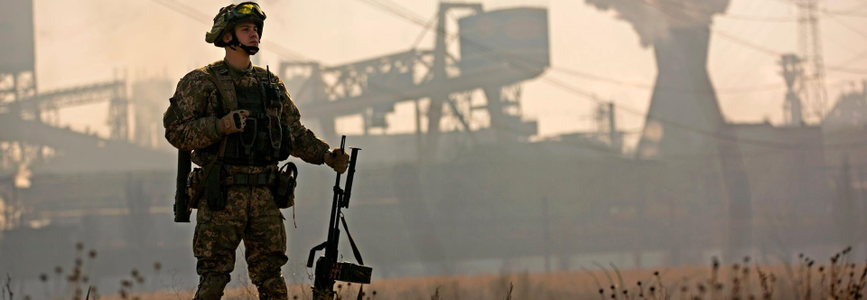 Ukraine's top war-zone general: The army will never surrender Donbas