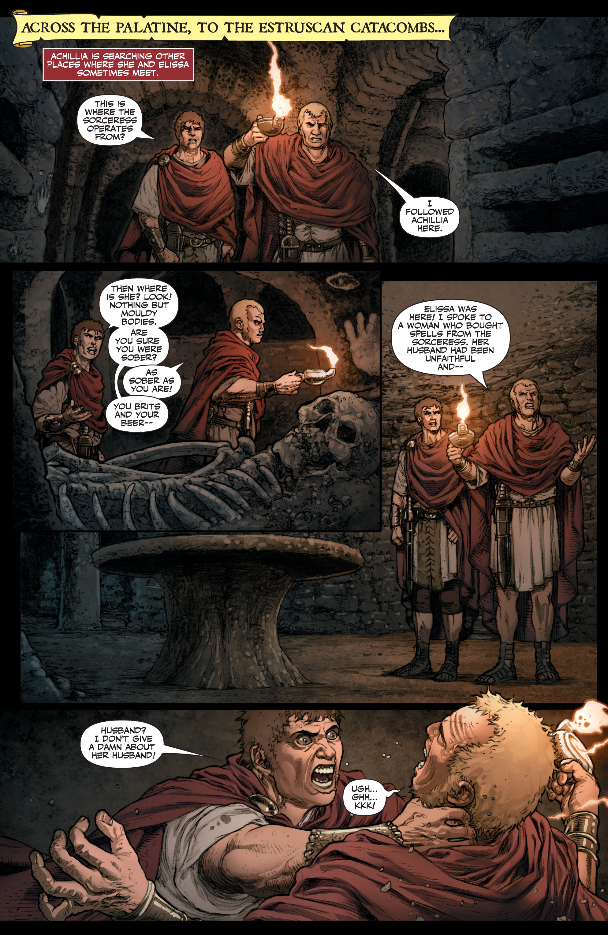Read online Britannia: We Who Are About To Die comic -  Issue #3 - 18