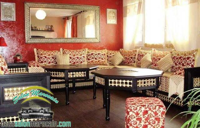 Salon marocain de beau décor  2017