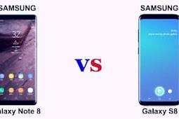Samsung Galaxy Note 8 Lebih unggul dibanding Samsung Galaxy S8