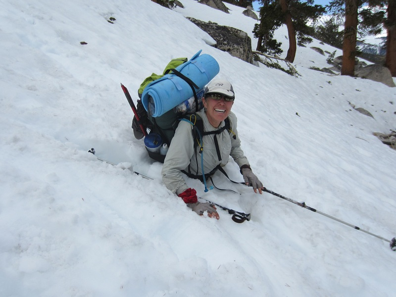 PCT with Purpose: Postholing and other new experiences