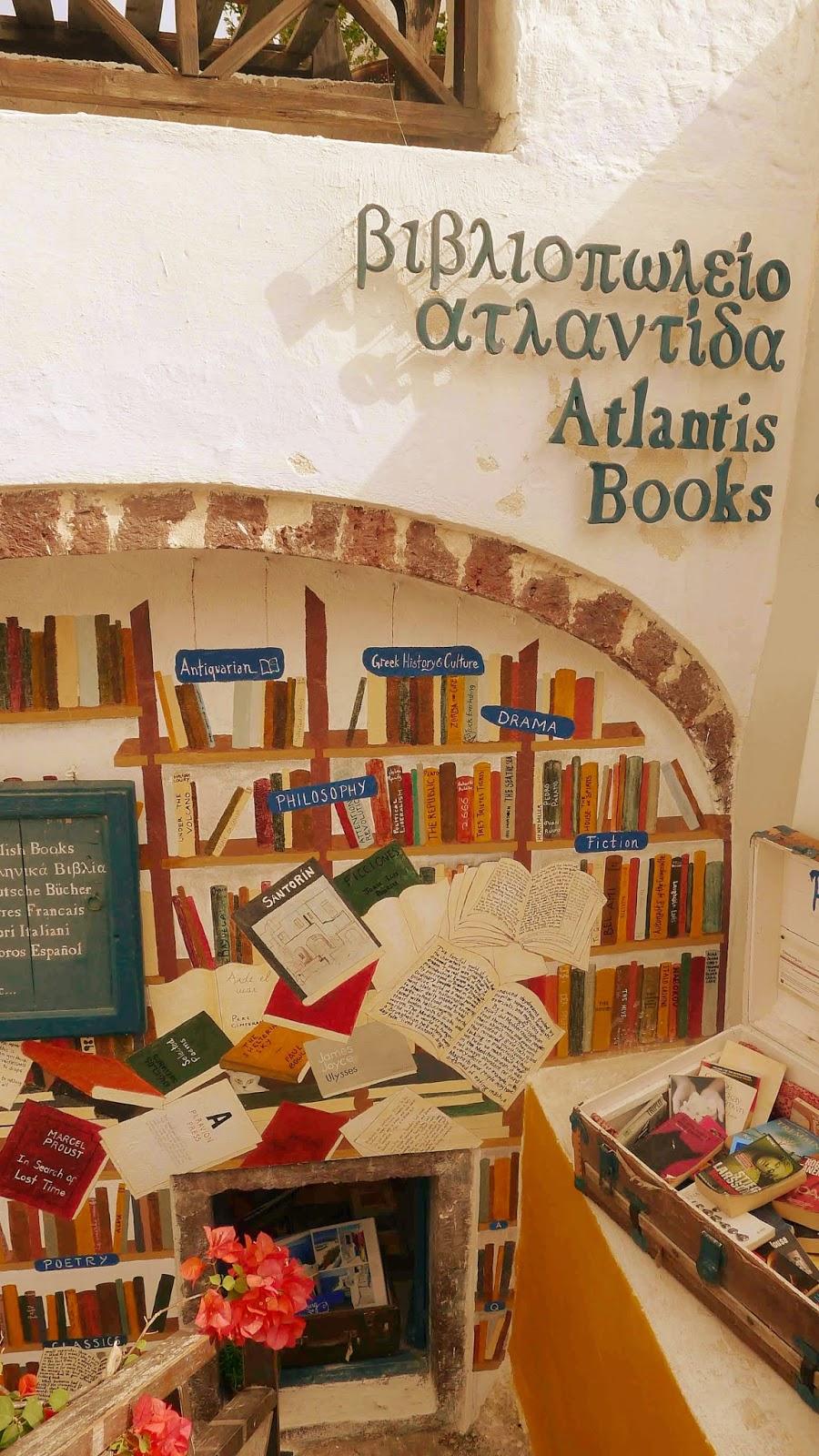 Atlantis Books Santorini