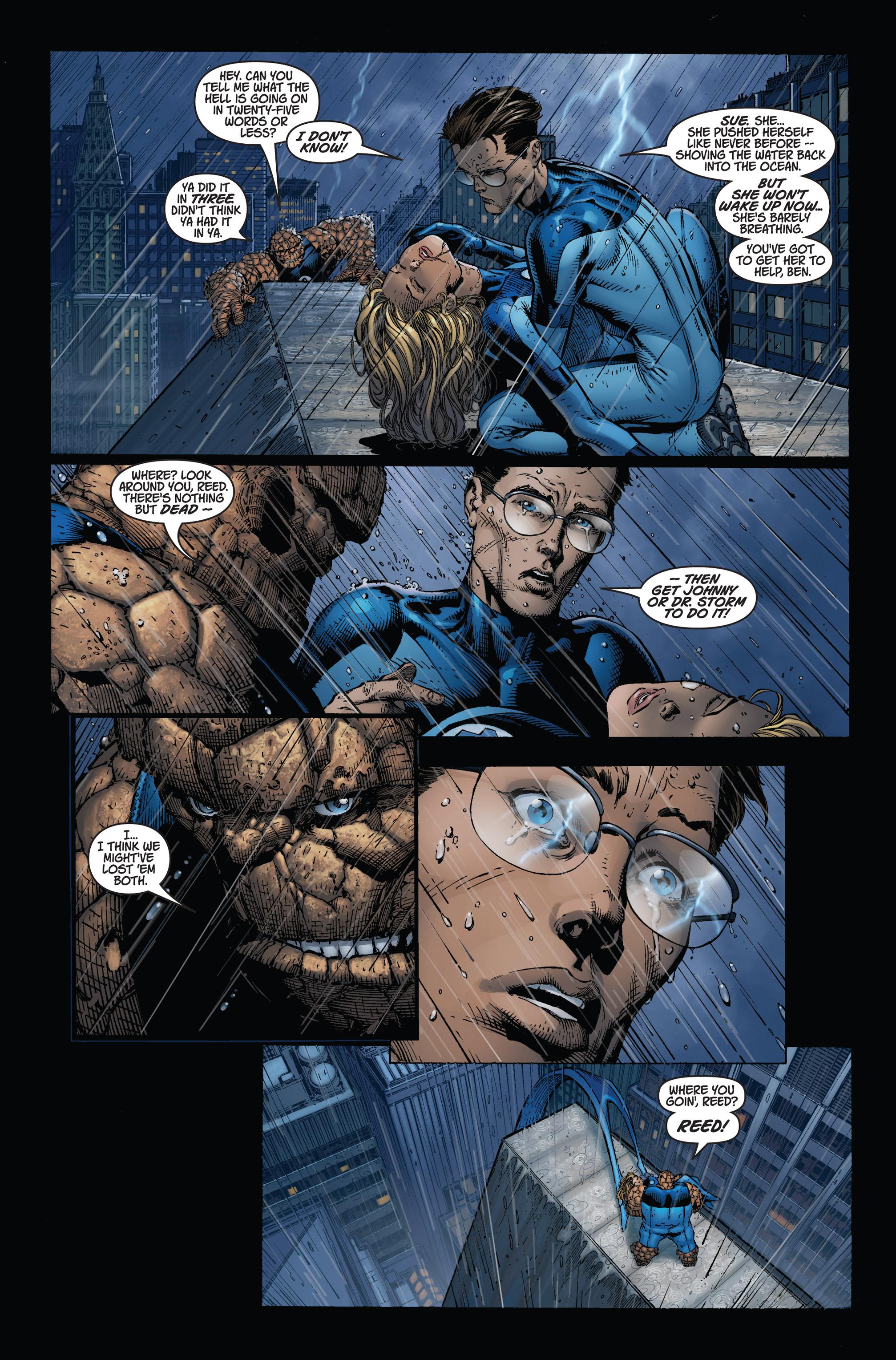 Read online Ultimatum comic -  Issue #1 - 16
