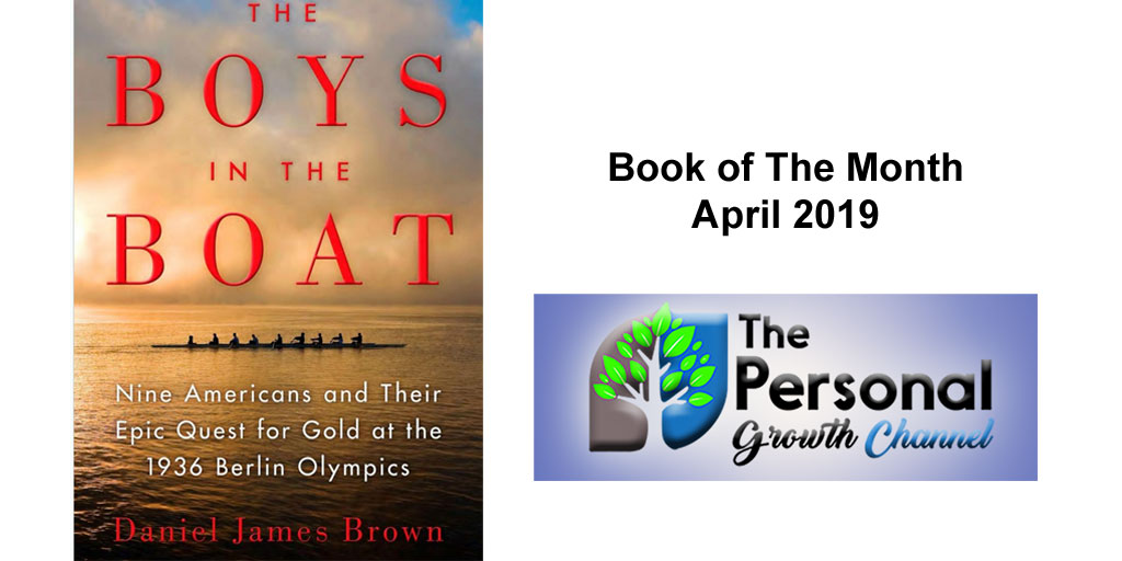 Personal Development Book Club Pick of the Month The Boys in the Boat