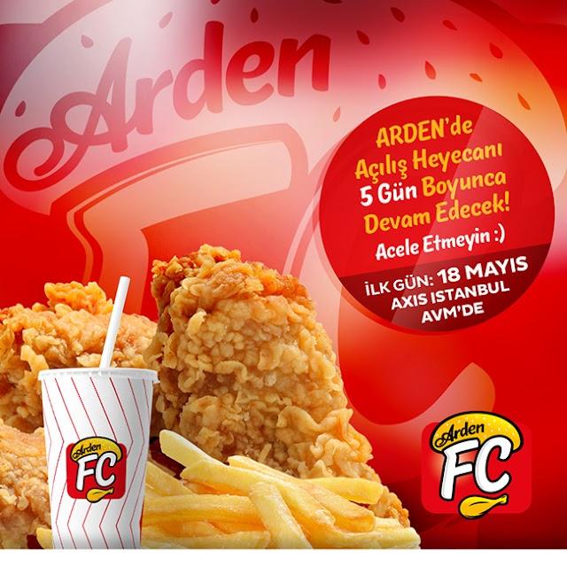 %100 Helal Kızarmış Tavuk Markası: Arden FC