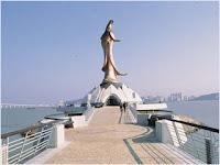 รูปปั้นเจ้าแม่กวนอิม (Kun Iam Statue)