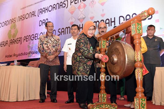 Sumsel Wujudkan Indonesia Bebas Sampah 2020