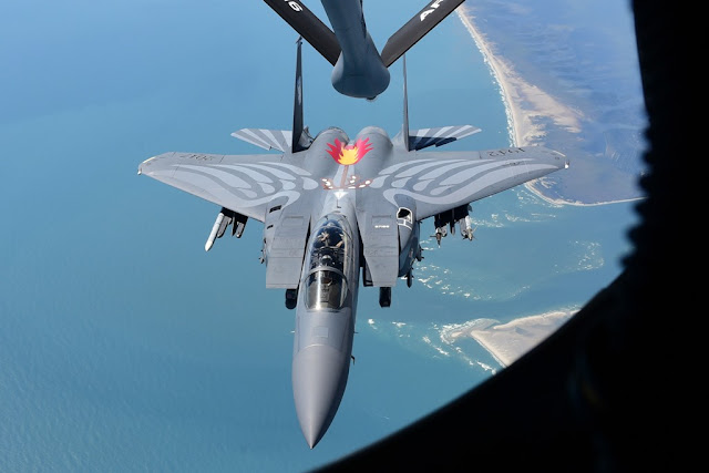 USAF F-15 heritage paint scheme