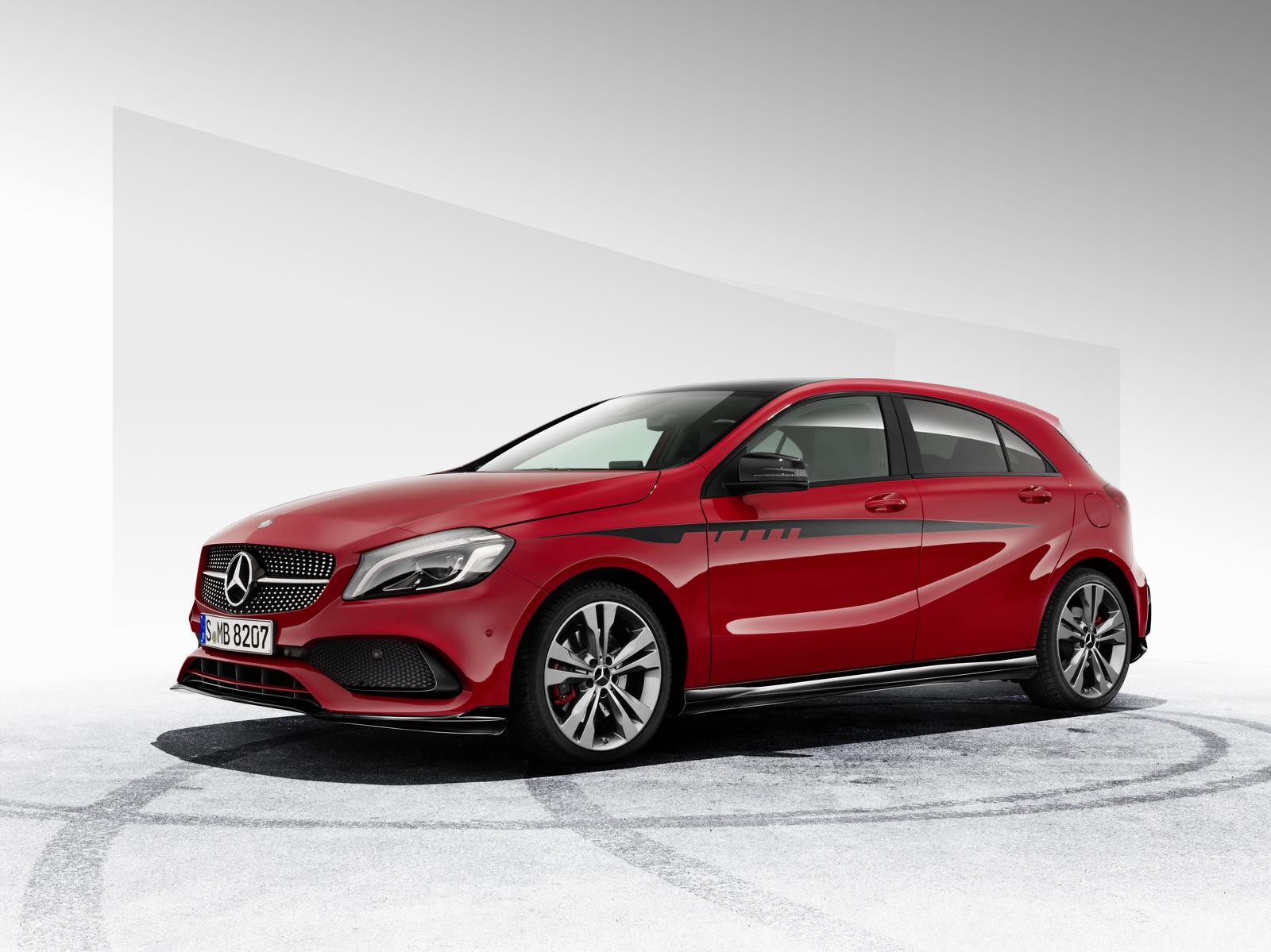 Mercedes-Benz A-Class sẽ rất thể thao sau khi độ