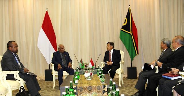 Melanesian Intelligence Service: Indonesia Sudah Mengunjungi Vanuatu Beberapa Kali