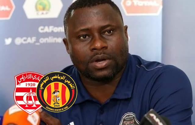 مدرب مازمبي الكونغولي يهين النادي الافريقي بالترجي و يهددهم بالكاف