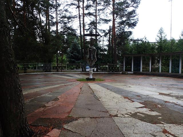 Arena w sanatorium w Gajiwce