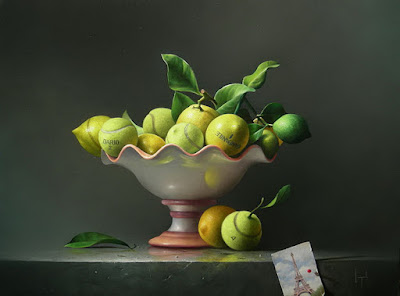 bodegon-con-limones-frutas-al-oleo