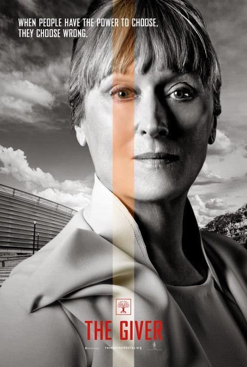 the giver affiches des personnages actu film