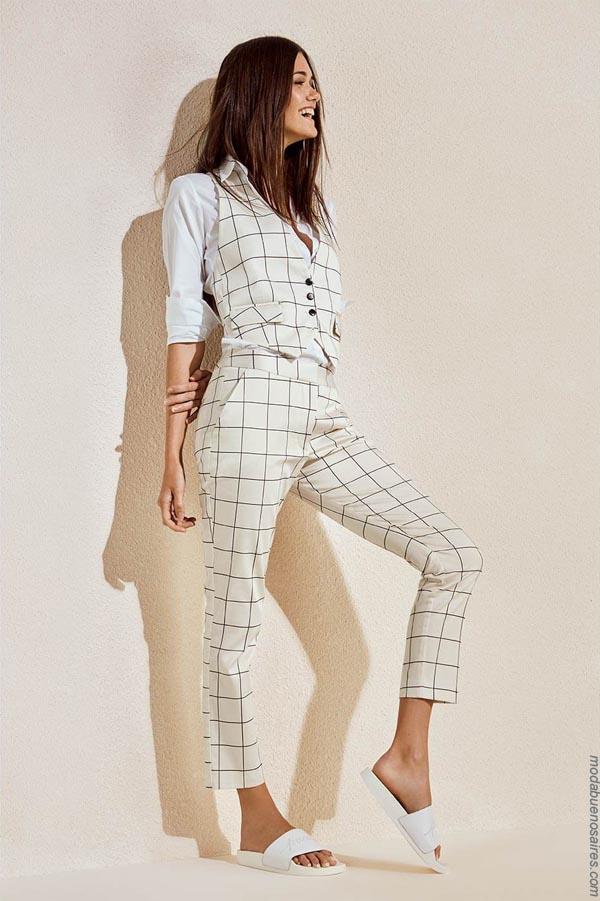 Chalecos moda verano 2019. Ropa de mujer 2019.