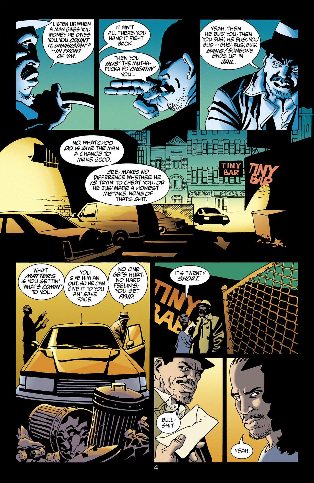 Read online 100 Bullets comic -  Issue #16 - 5