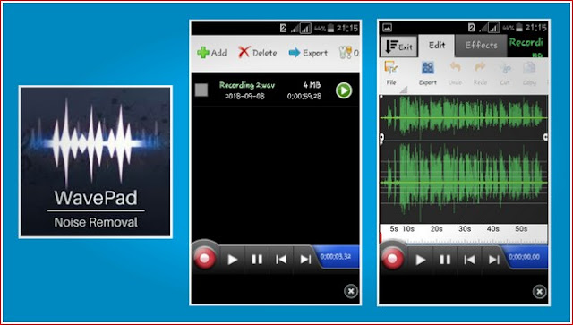 Cara Edit Audio di Android