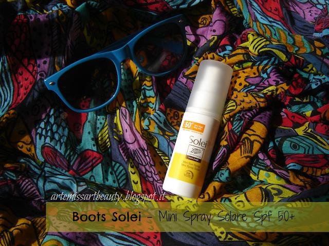 Boots Solei spray solare spf 50