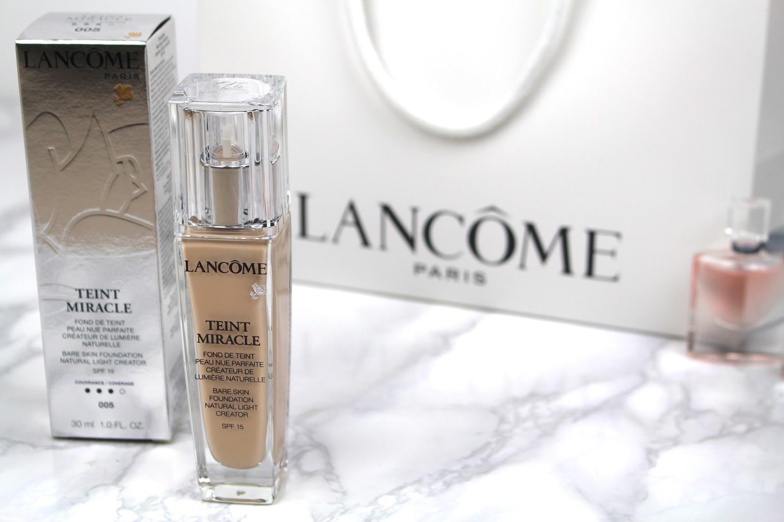 lancome blogger goody bag