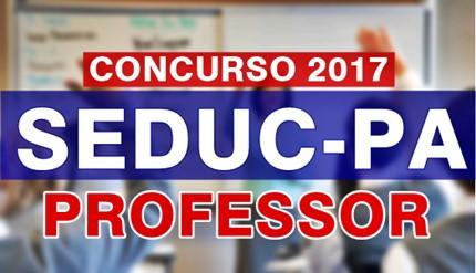 Concurso SEDUC-PA 2017 Professor Classe I