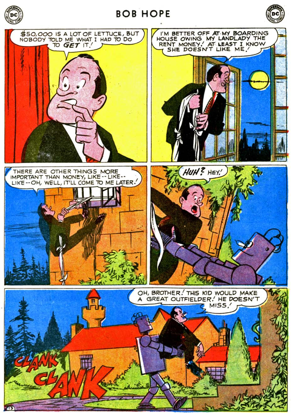 The Adventures of Bob Hope issue 68 - Page 17