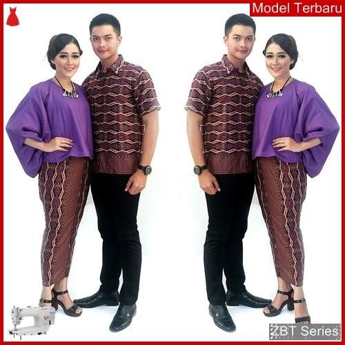 ZBT10009 Kebaya Batik Couple Zulaika Batwing Sarimbit BMGShop