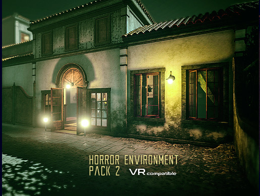 Horror Environment Pack 2 v1 1 - Free Download - Unity