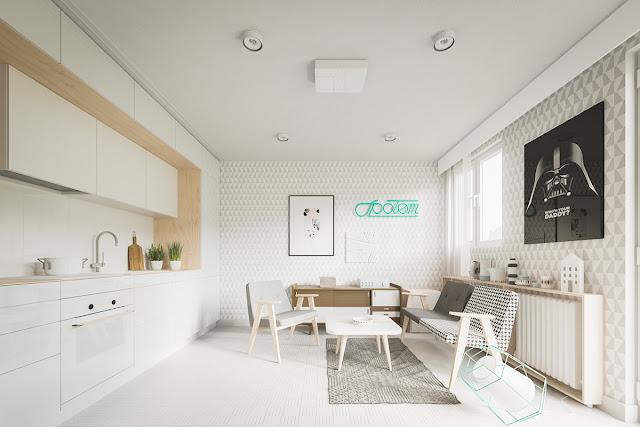Gợi ý cách thiết kế nội thất chung cư nhỏ 1