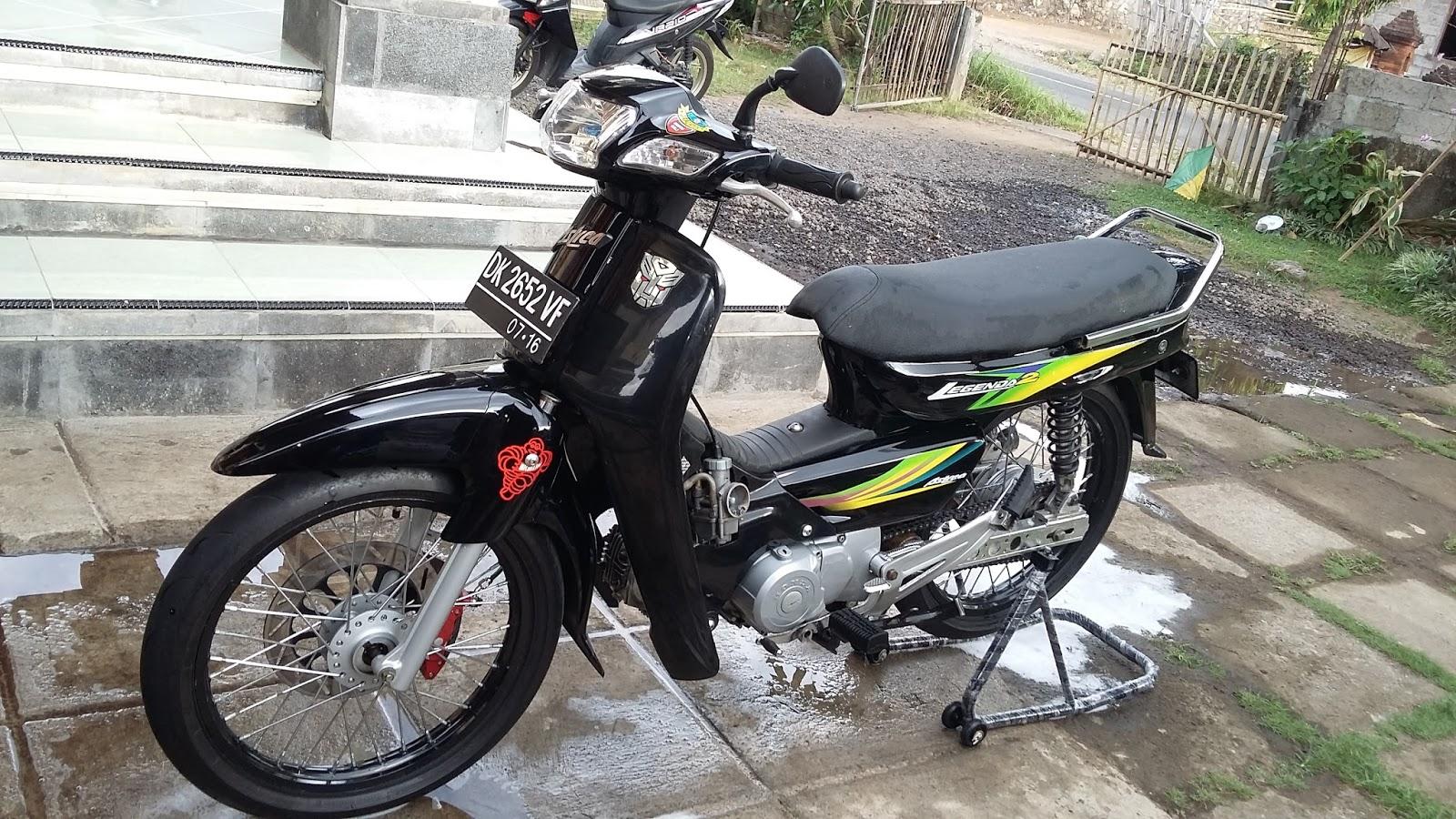 Honda Grand Modif Modifikasi Motor Kawasaki Honda Yamaha