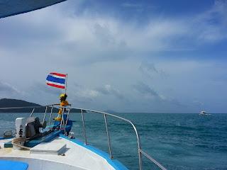 On the way to Racha Noi Island off Phuket
