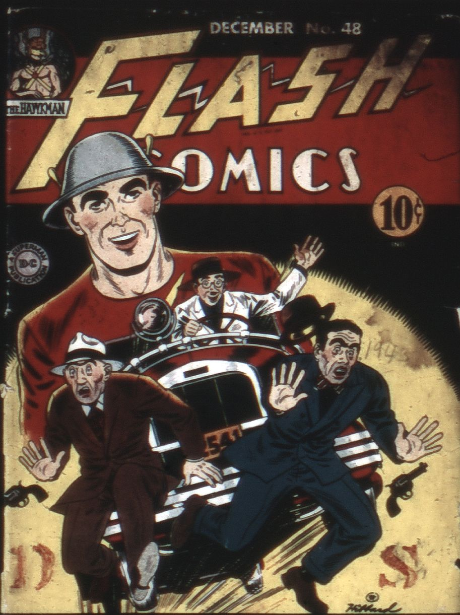 Flash Comics issue 48 - Page 1