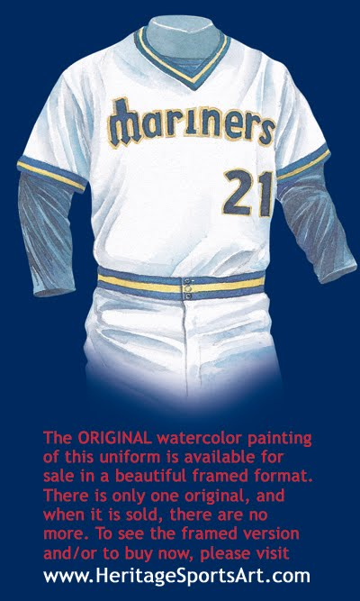 separation shoes bf901 a59c9 Seattle Mariners Uniform and Team History   Heritage ...