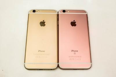 cách phân biệt iPhone 6 và 6S