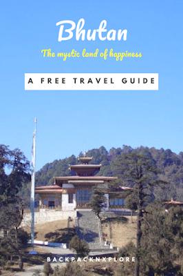 Bhutan Travel guide Pin
