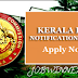 KERALA PSC NOTIFICATIONS -2017 :  GAZETTE DATE 12.04.2017 LAST DATE 17.05.2017 CATEGORY NOS - 34/2017 to 62/207