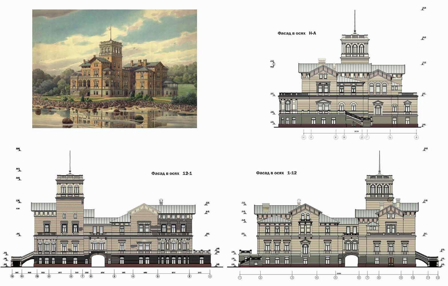 Winter palace research floor plans of the lower dacha in for Palace plan