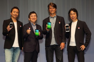 Junichi Masuda Shigeru Miyamoto Pokémon GO smartphone mobile