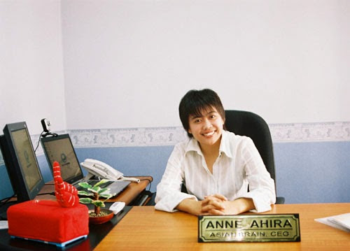 Anne Ahira Pendiri Asian Brain Internet Marketing Center