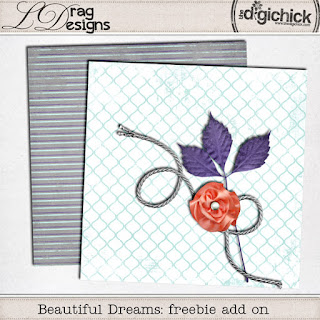 Creative Team for LDrag Designs -    Beautiful Dreams: The Collection by LDrag Designs and Coordinating Freebie