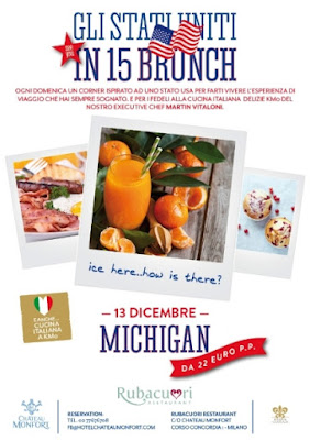 Château Monfort michigan dicembre brunch