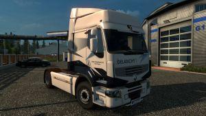 Delanchy Skin for Renault Premium