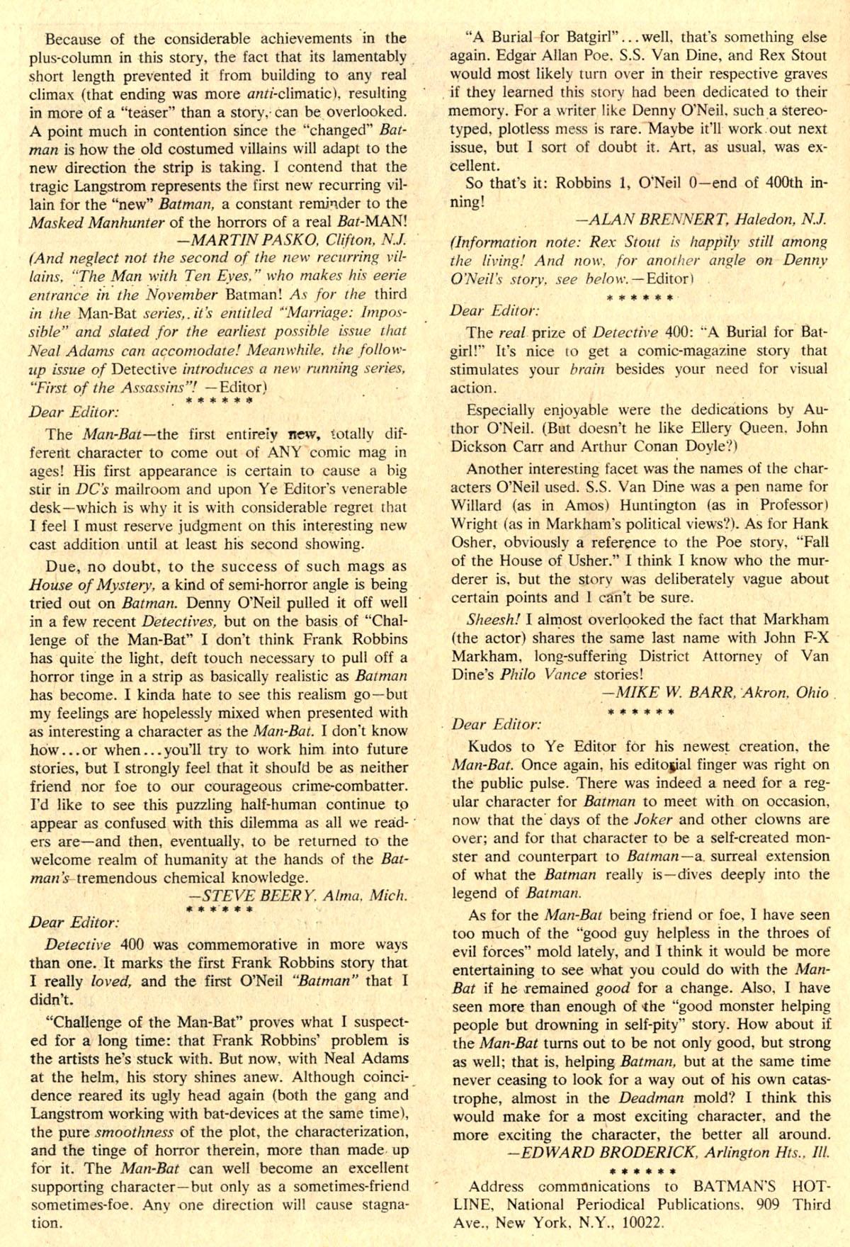 Detective Comics (1937) 404 Page 31